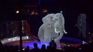 Roncalli: el circo que usa animales holográficos