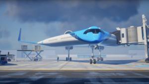 Flying-V: el sorprendente avión que transportará pasajeros en sus alas