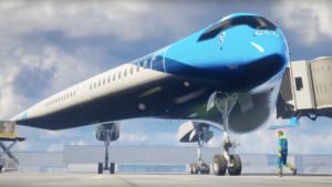 El avión futurista Flying-V con forma de V tuvo su primer vuelo de prueba