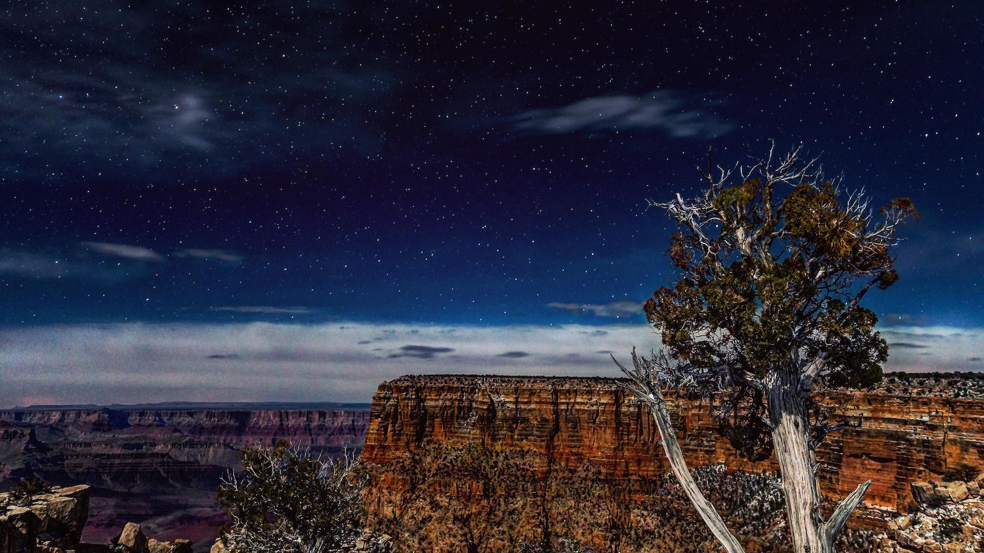 El Gran Cañón del Colorado se convirtió en un parque ideal para ver las estrellas