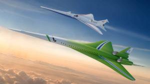 El sorprendente nuevo avión supersónico de pasajeros