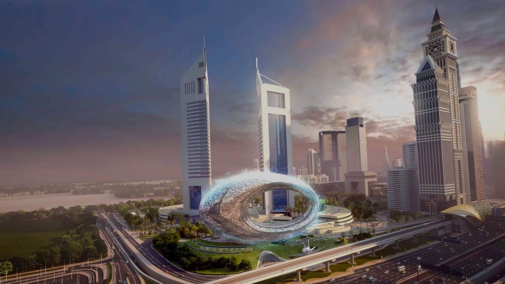 Así será el Museo del Futuro: abre a tiempo para la expo Dubái 2020