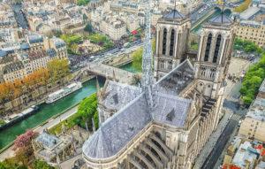 El proyecto de los arquitectos de los Apple Stores para reconstruir Notre-Dame
