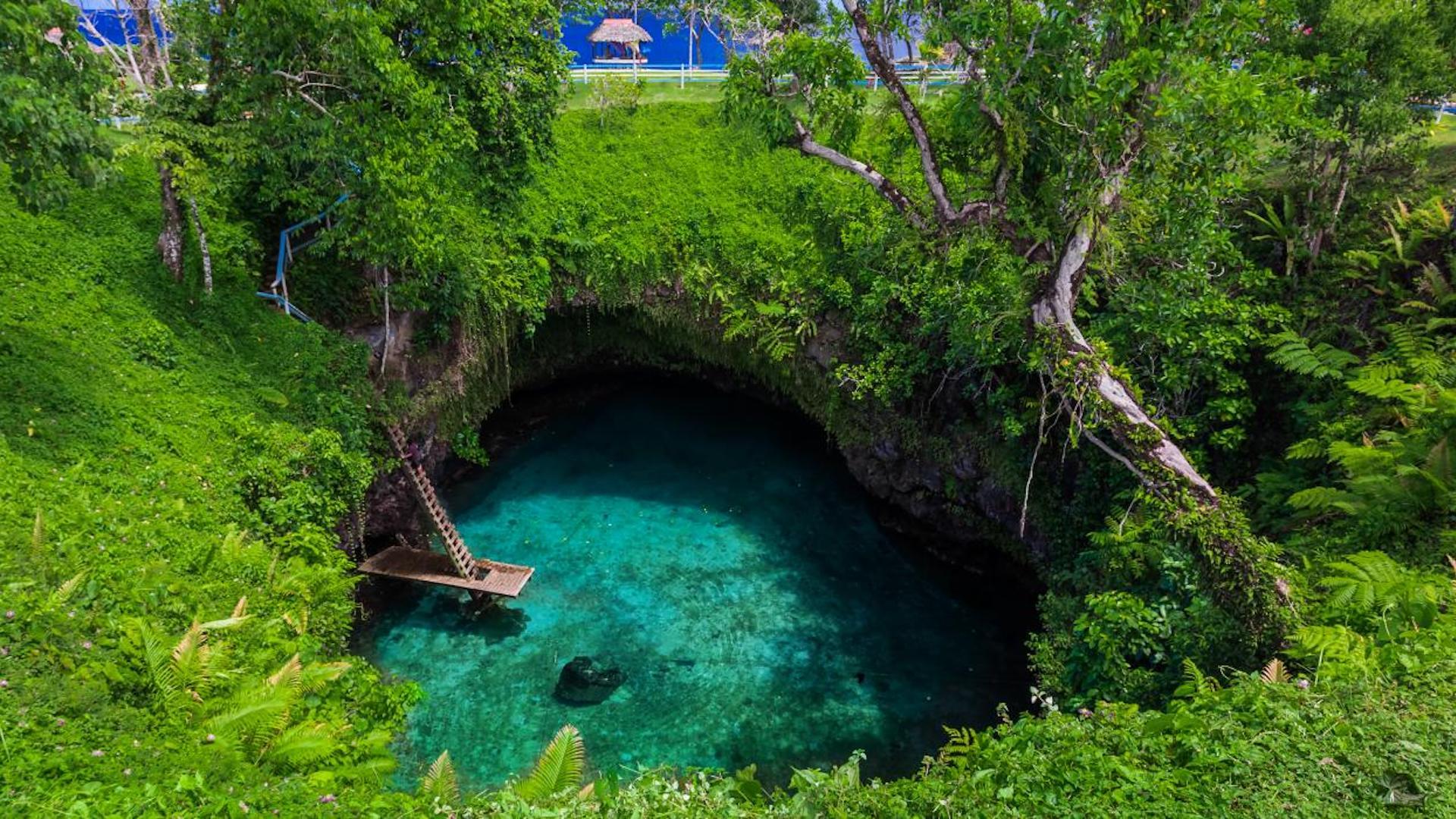 Esta es la fascinante fosa oceánica de To Sua en Samoa