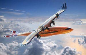 Airbus presentó un sorprendente diseño de avión con forma de águila