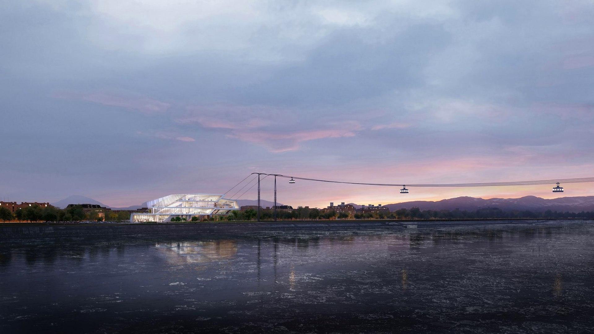 Este es el primer teleférico que viajará de Rusia a China en 8 minutos