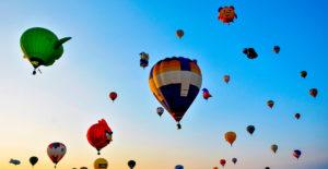 Cinco lugares para viajar en globo en México