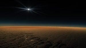 Las imágenes del eclipse solar total desde un avión por National Geographic