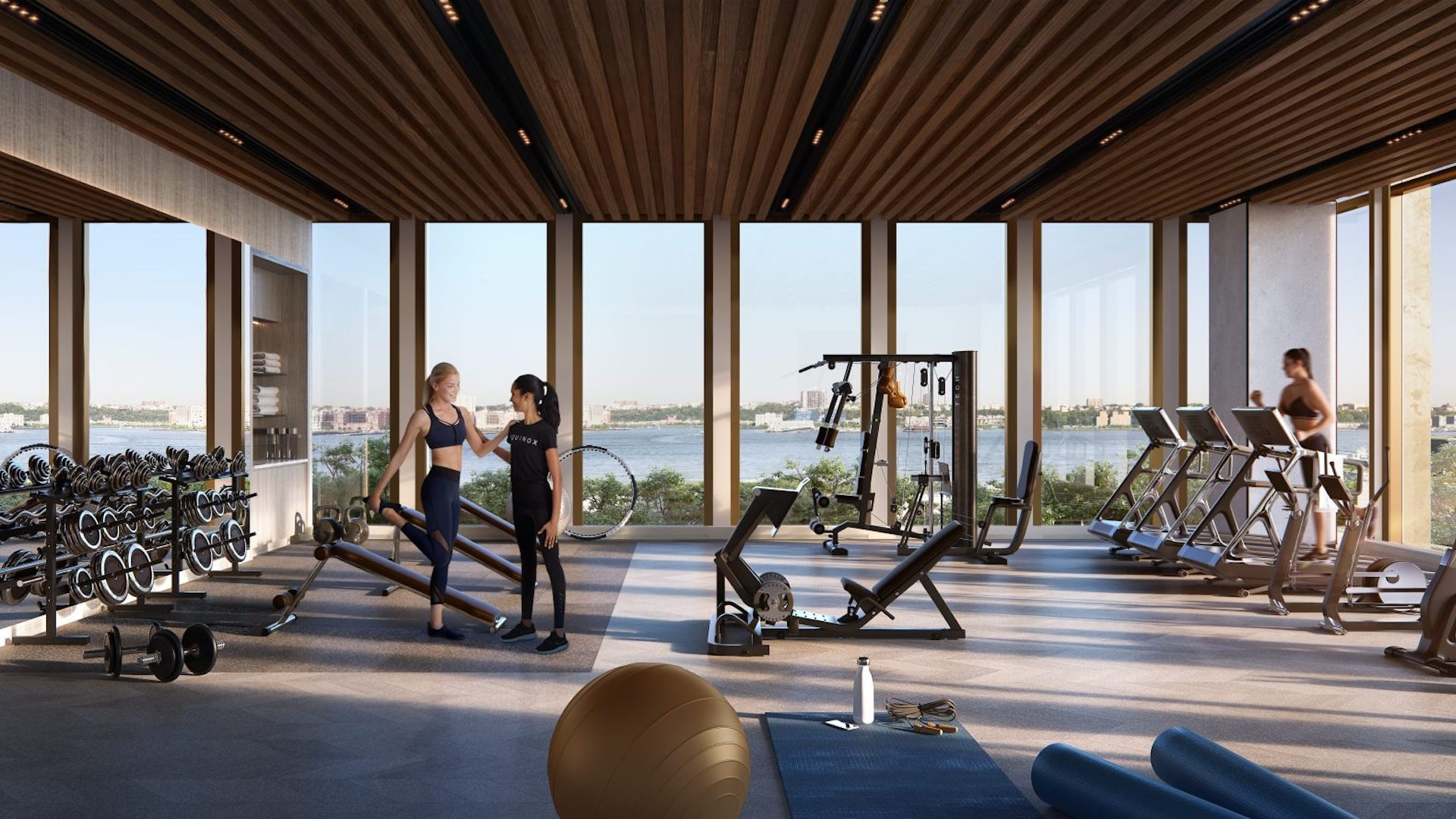 Este es Equinox Hudson Yards: el gimnasio con la mejor vista de Nueva York