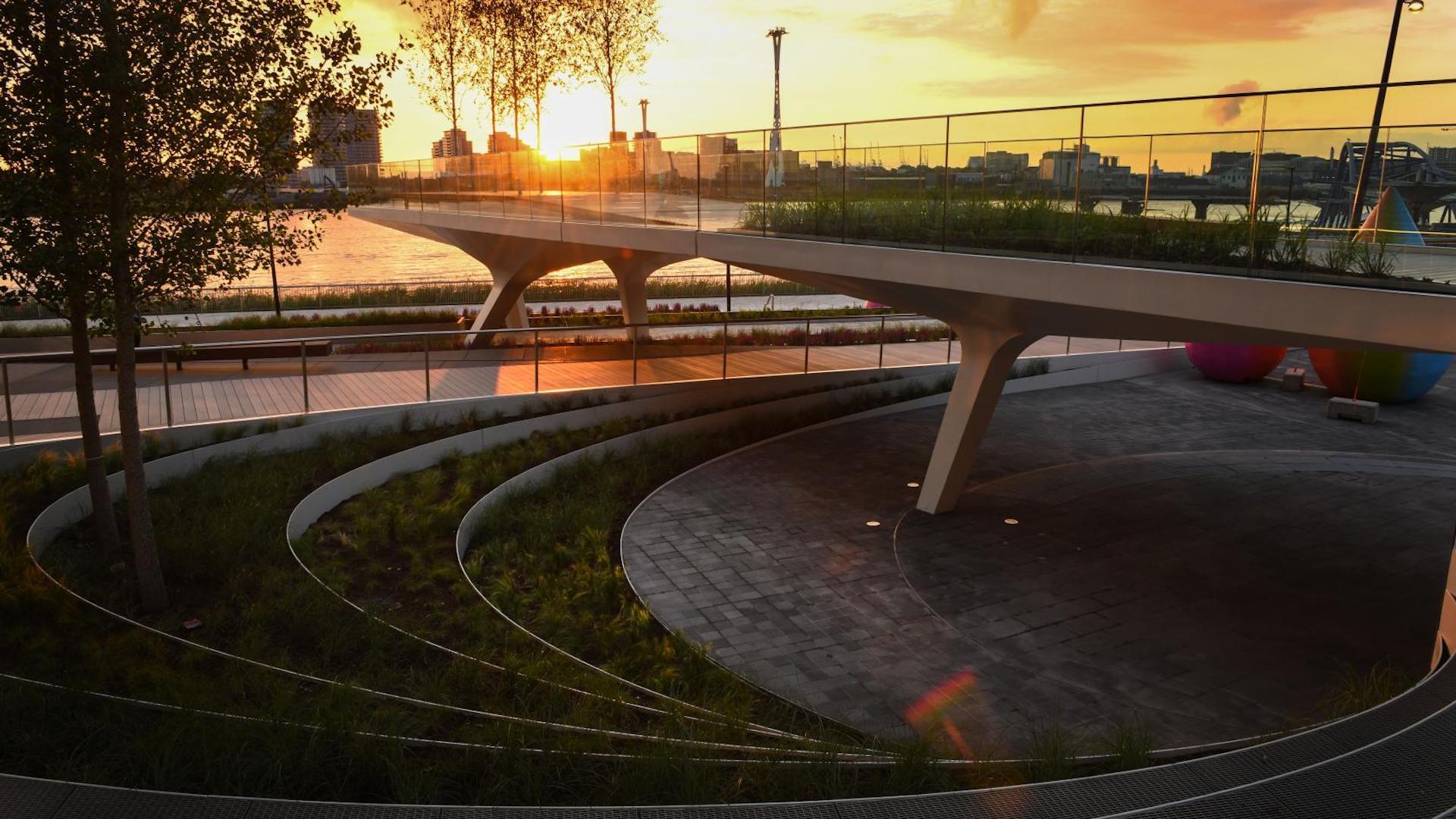 De los co-creadores del High Line, abrió The Tide, el nuevo parque de Londres