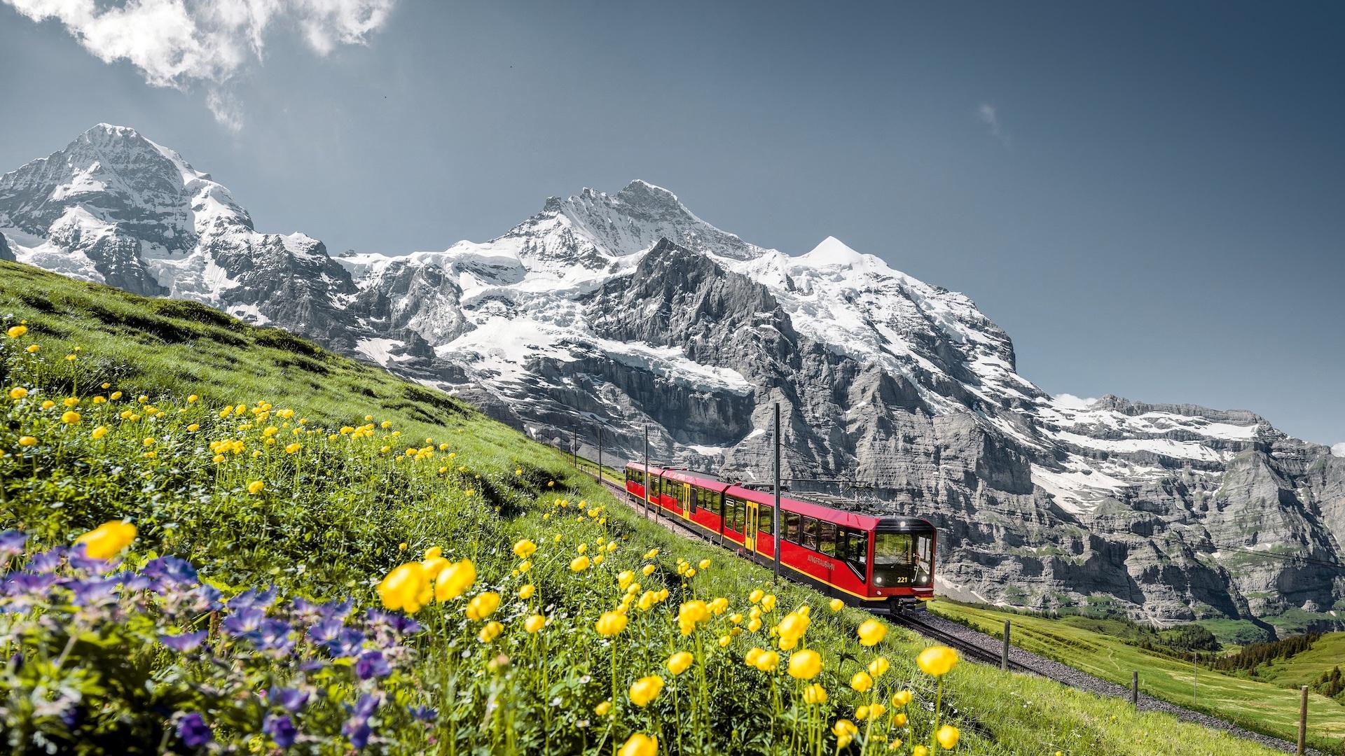 Cuatro sitios europeos, clasificados por la Unesco, para visitar en tren