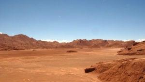 Así es el Desierto del Diablo, el paisaje en Argentina que parece estar en Marte