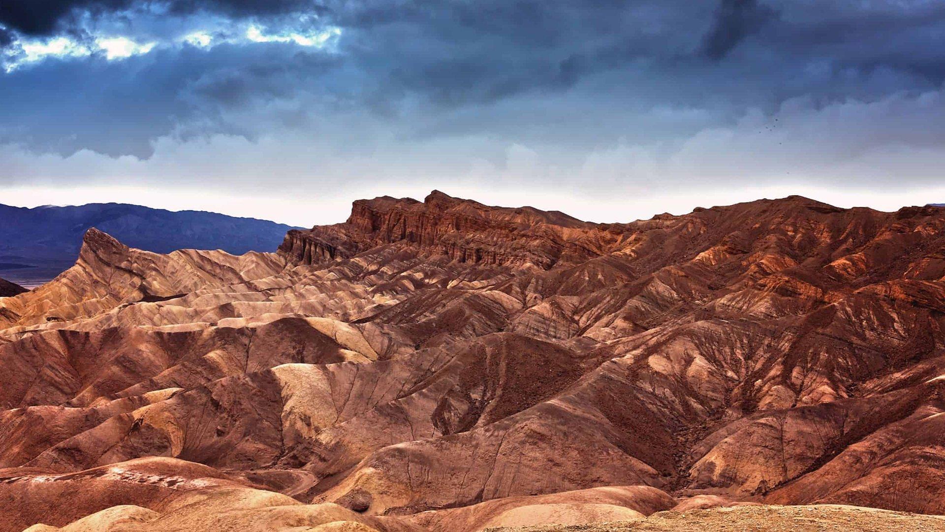 Así es el parque nacional Death Valley en Estados Unidos