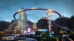 Así es Quiddiya, la impresionante capital del entretenimiento en Arabia Saudita