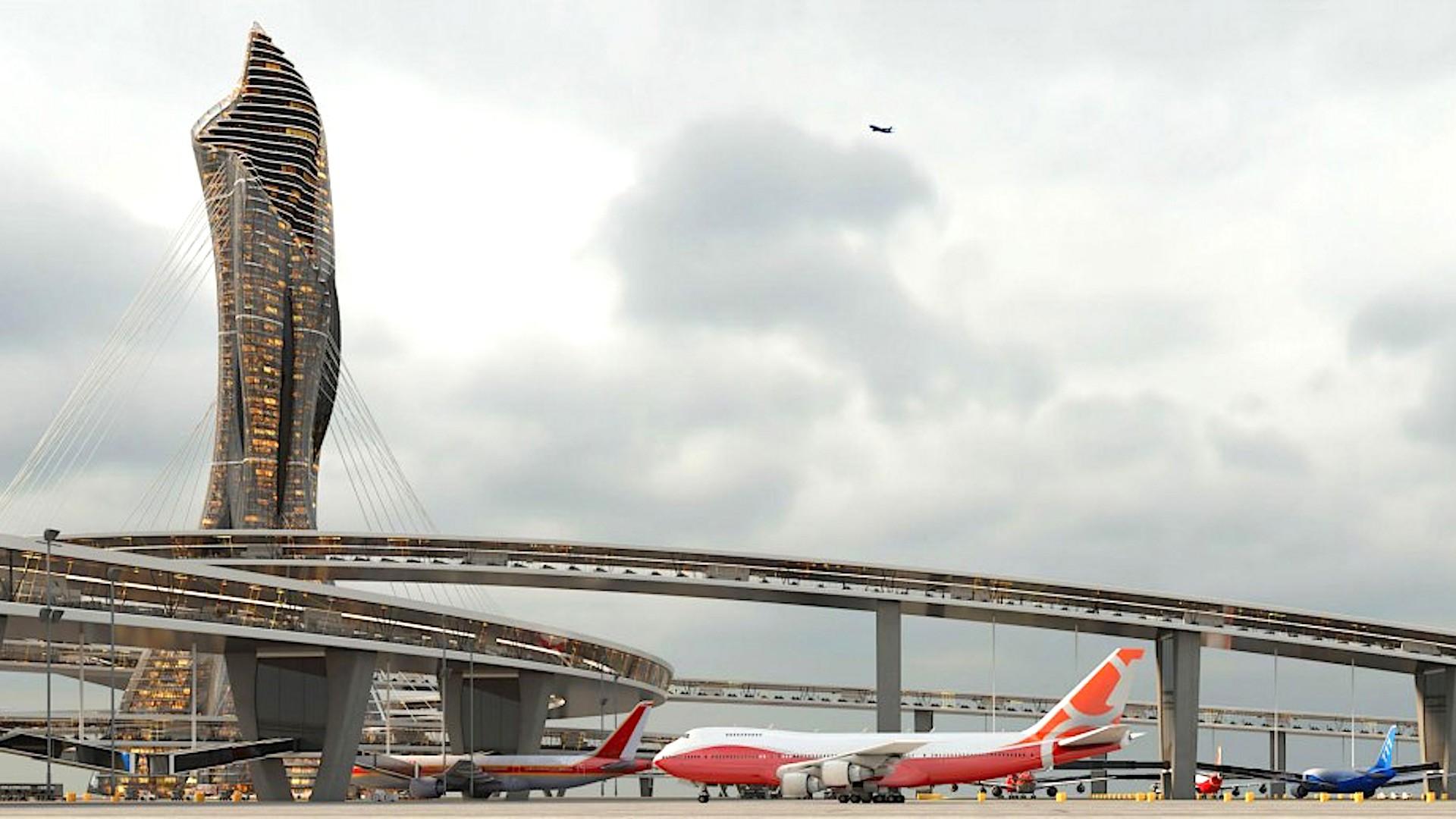 Así serán los aeropuertos del futuro: la visión para el año 2075