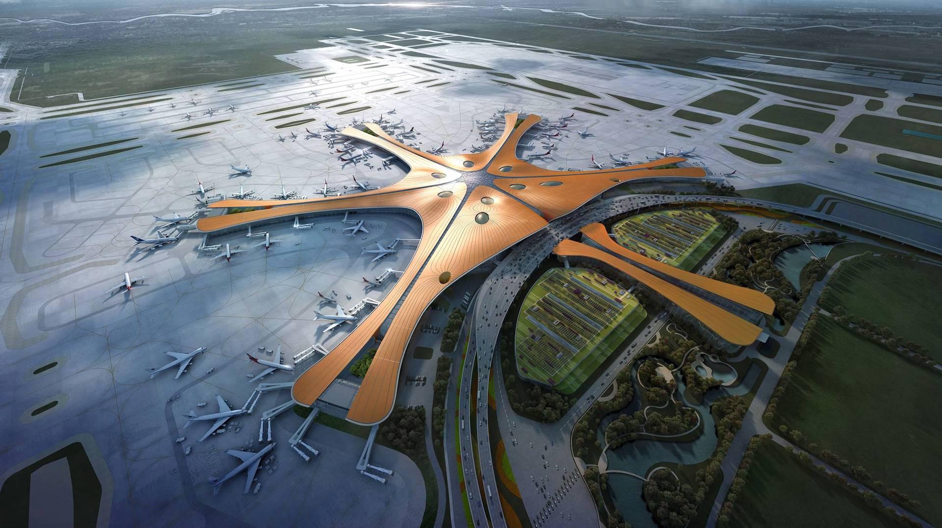 Inauguró el nuevo aeropuerto más grande del mundo: Daxing