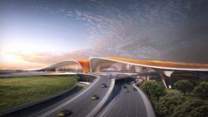 Inaugura en Beijing uno de los aeropuertos más impresionantes del mundo