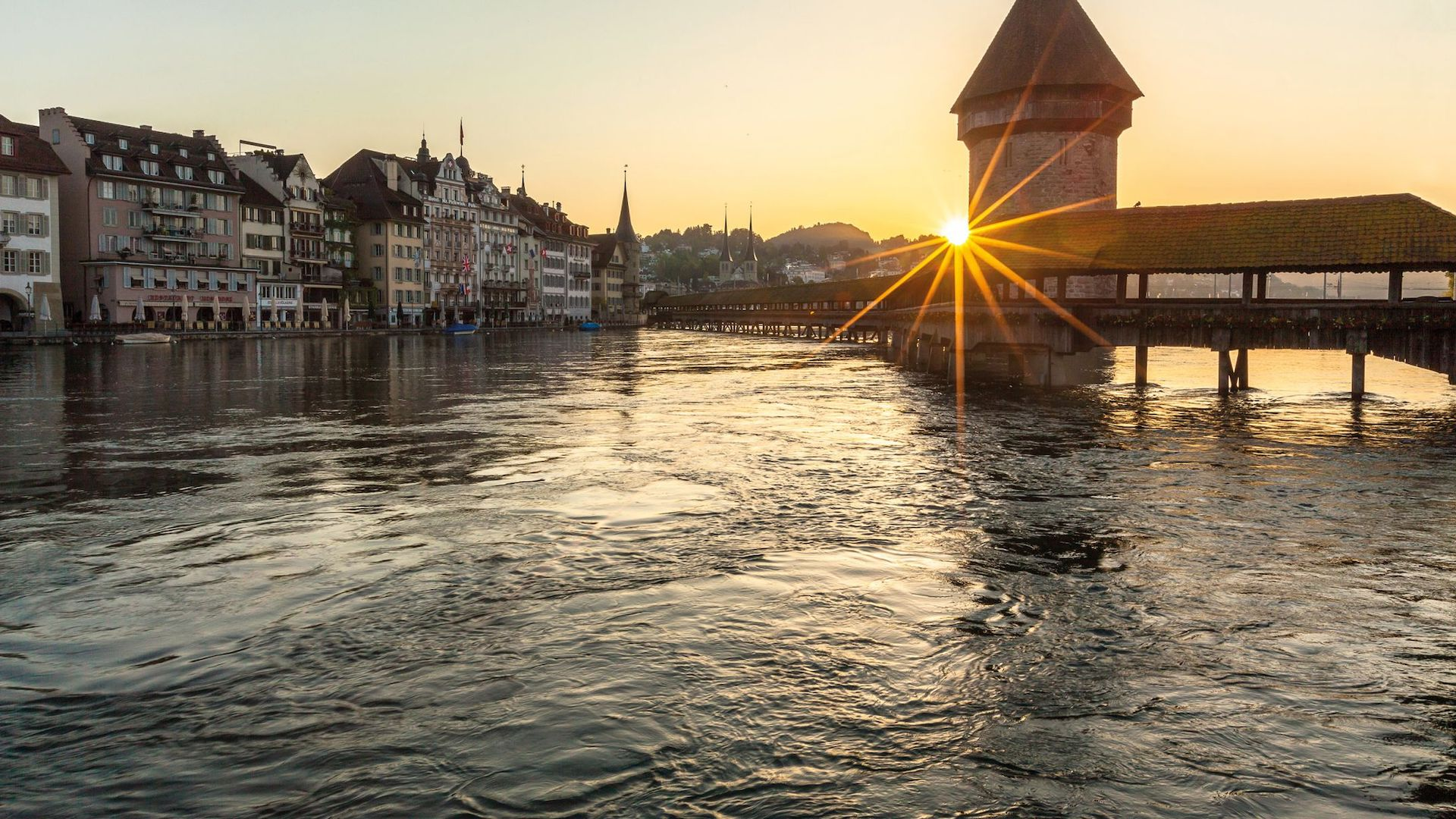 Así es Lucerna, destino imperdible para visitar en Suiza