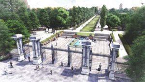 Así quedará el Paseo de México en el Parque del Retiro de Madrid