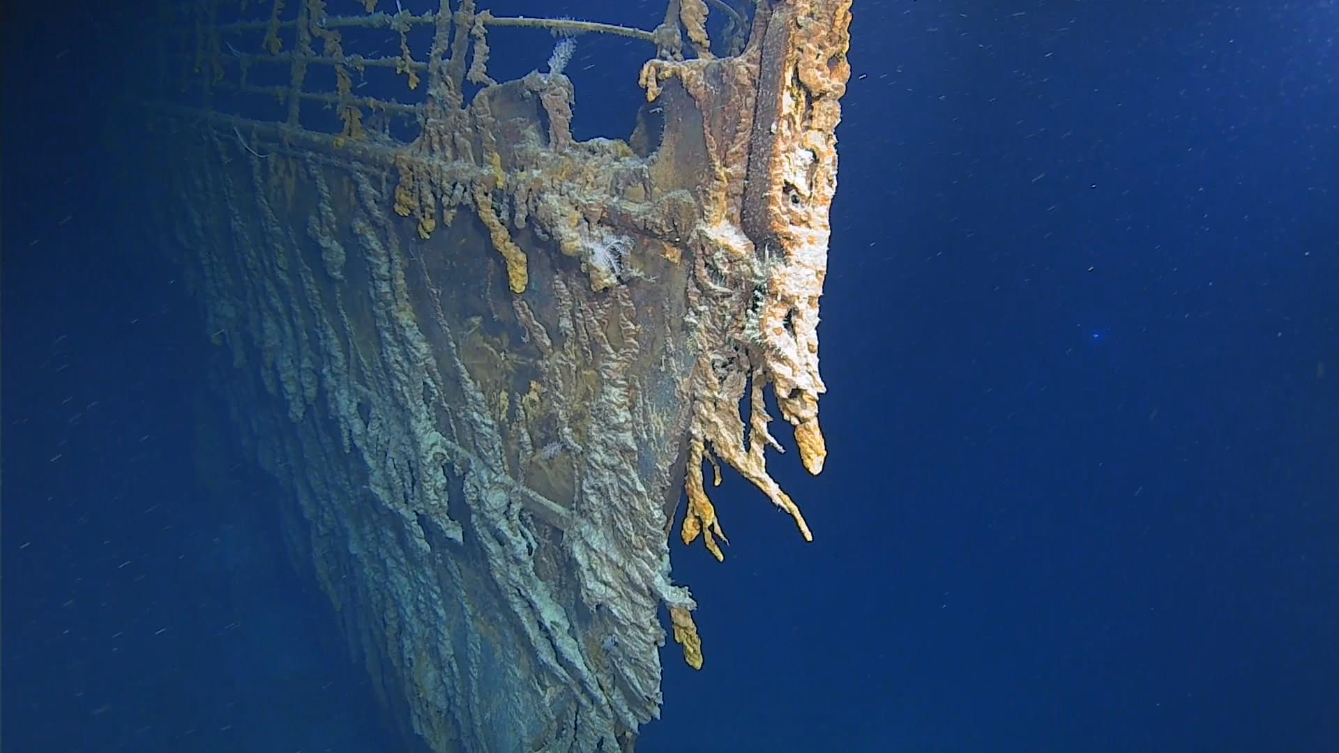 Así se ve hoy el Titanic, en la primera misión con humanos en 14 años