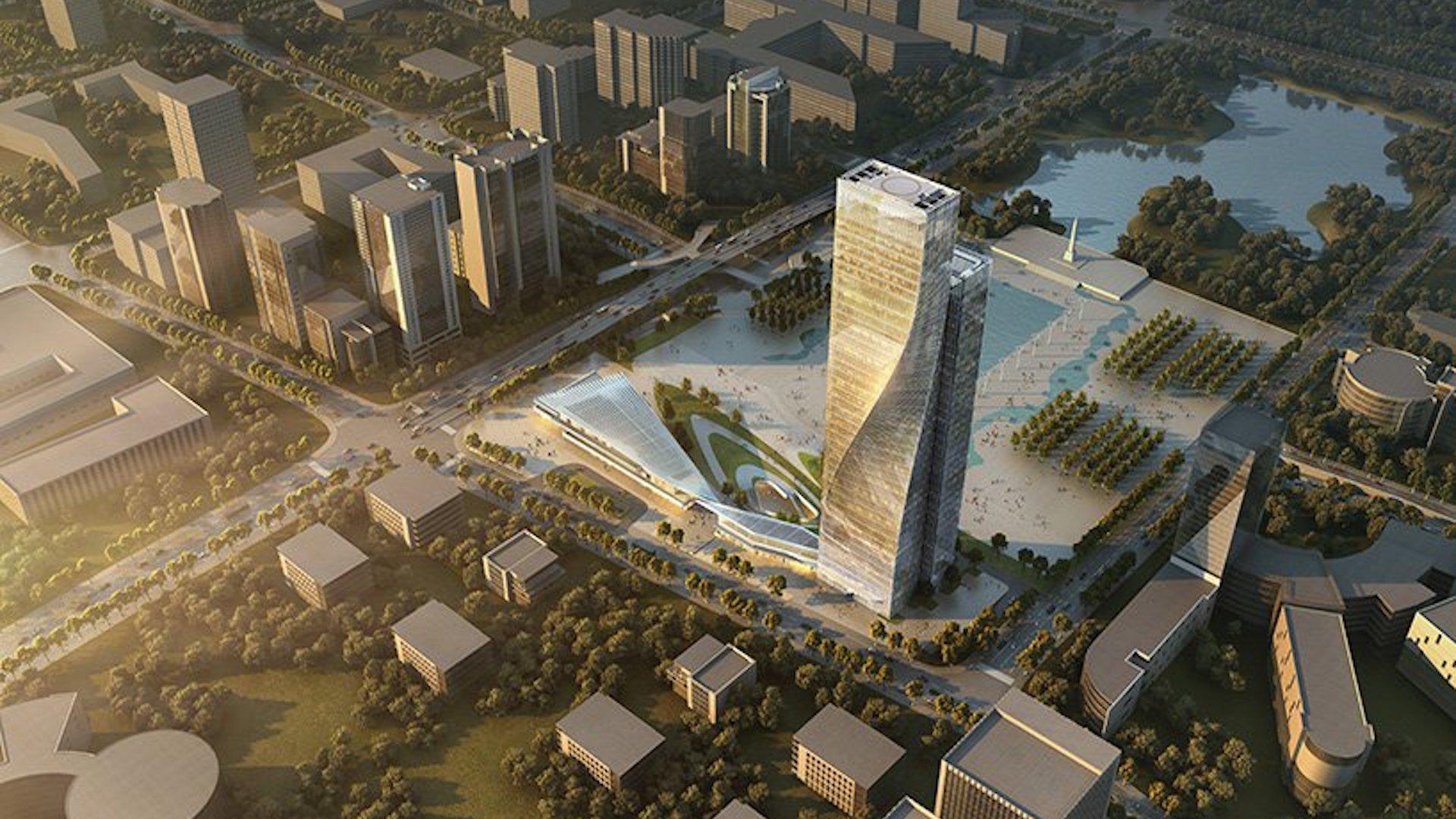 Así será uno de los rascacielos más retorcidos (o en espiral) del mundo