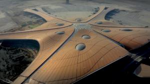 El video que muestra como es el increíble aeropuerto de Beijing