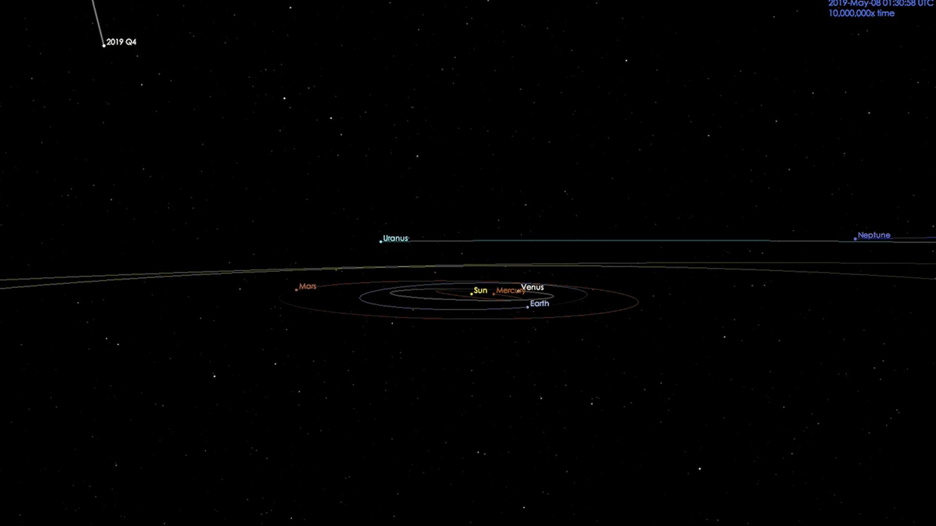El nuevo cometa interestelar que llama la atención del mundo
