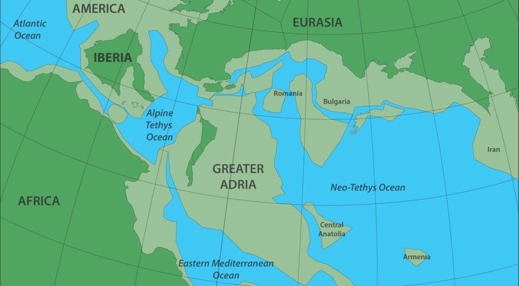 Gran Adria: el continente perdido, encontrado debajo de Europa