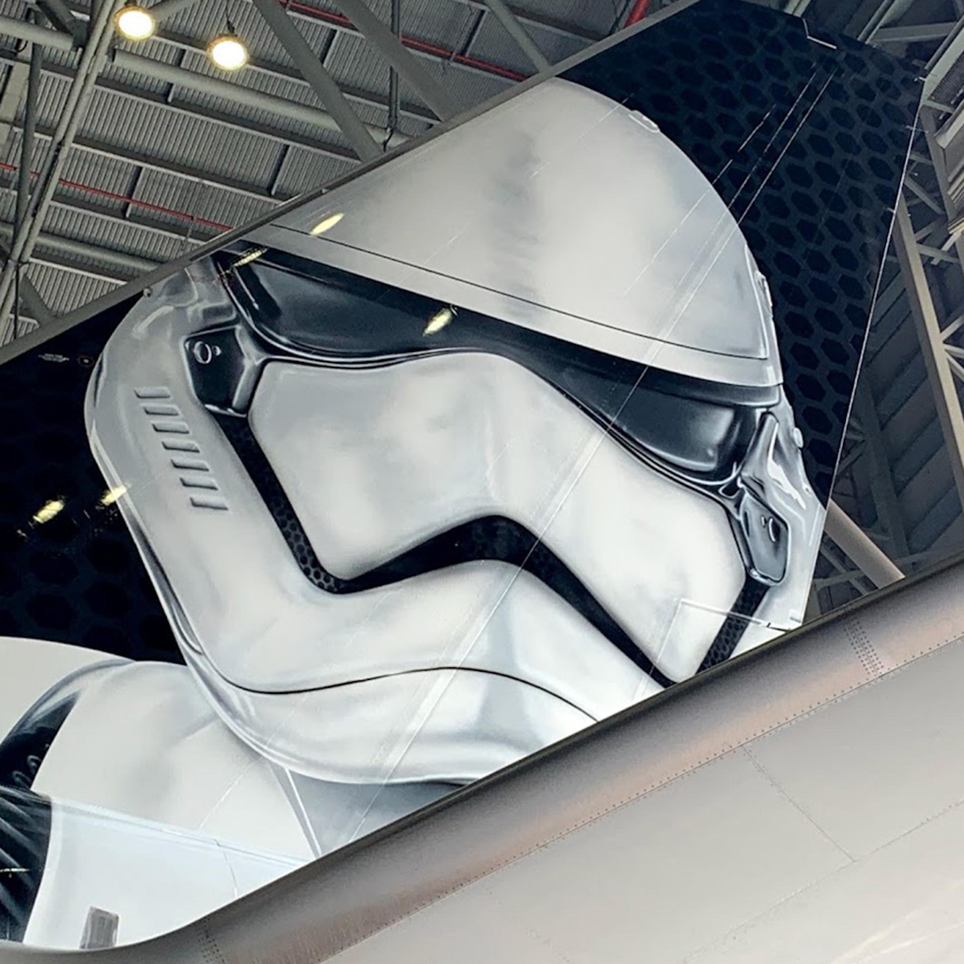 Este es el avión de Star Wars de Latam