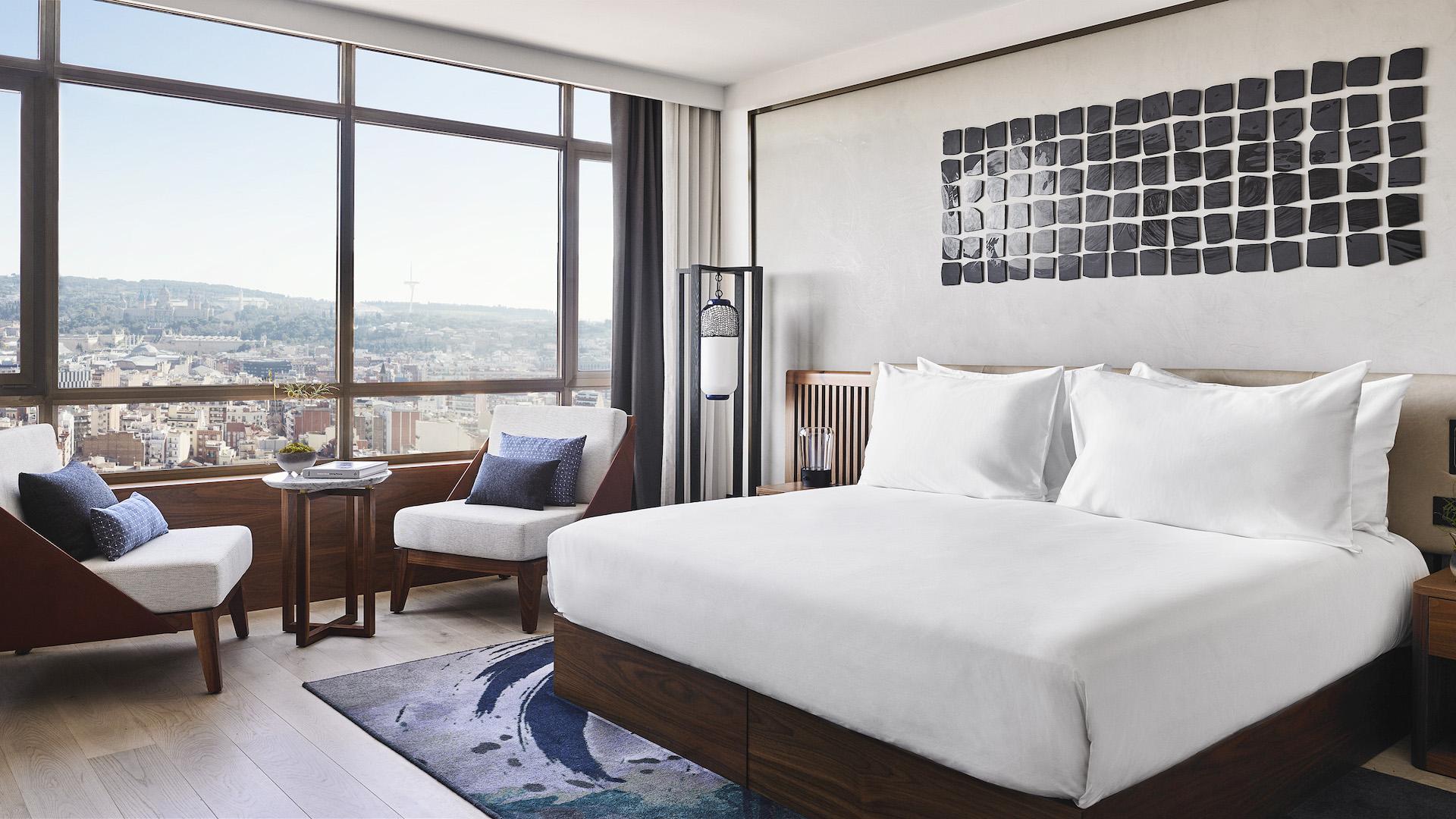 Abrió el exclusivo Nobu Hotel en Barcelona, con el sello de Robert de Niro