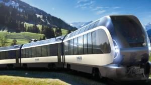 El nuevo tren diseñado por Pininfarina que recorrerá los Alpes Suizos
