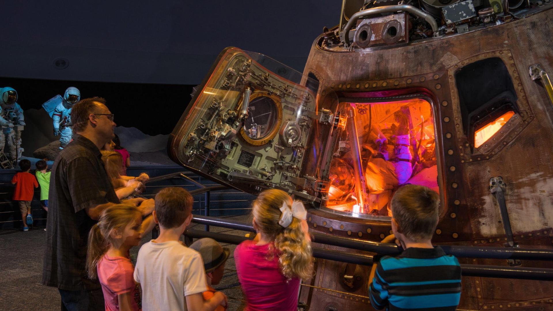 ¿Qué hacer en el Space Center Houston? Un museo imperdible