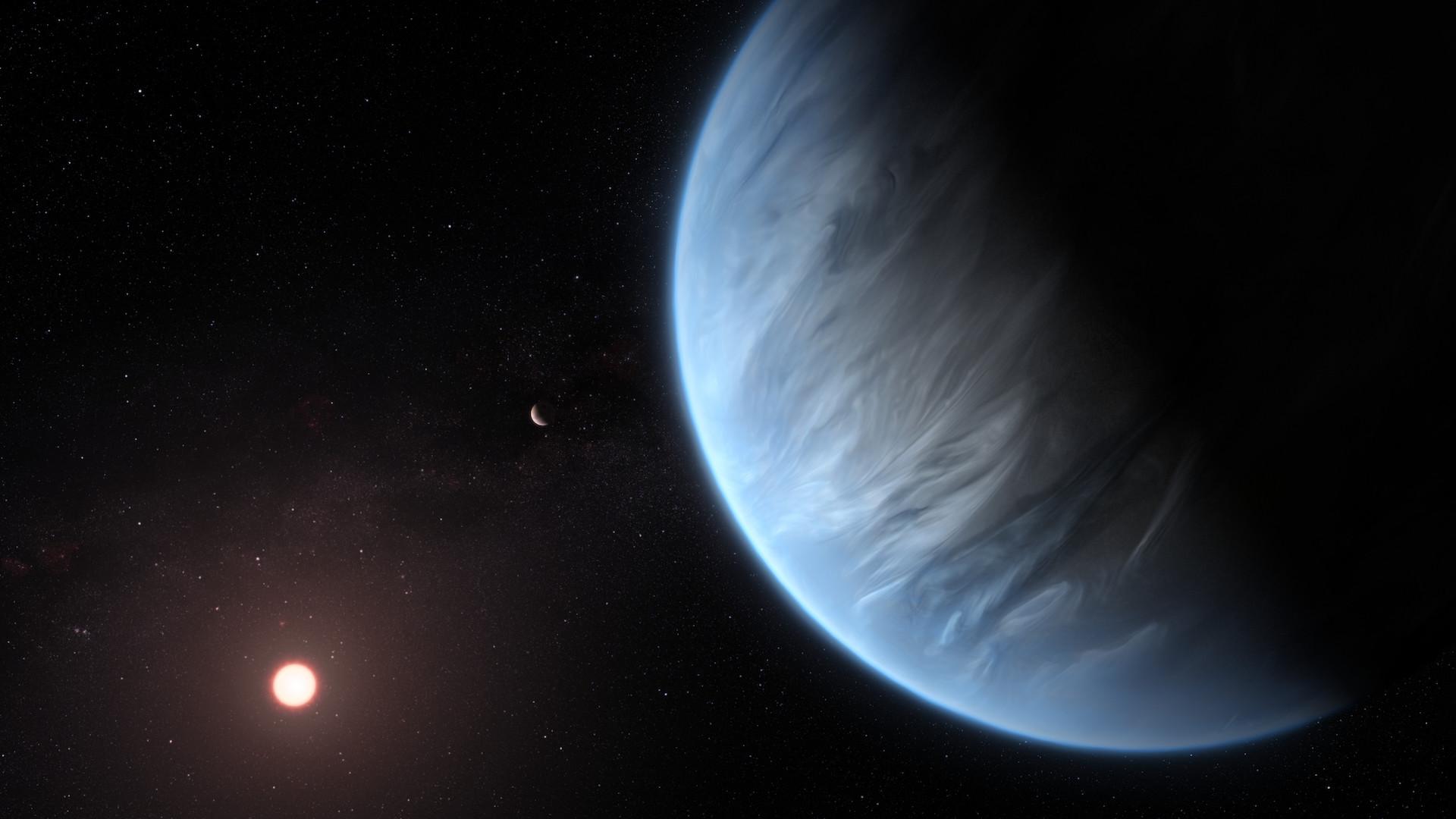 Encuentran vapor de agua en la atmósfera de un planeta (que no es la Tierra)