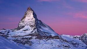 Esta es la montaña más fotografiada del mundo: Cervino, en Suiza
