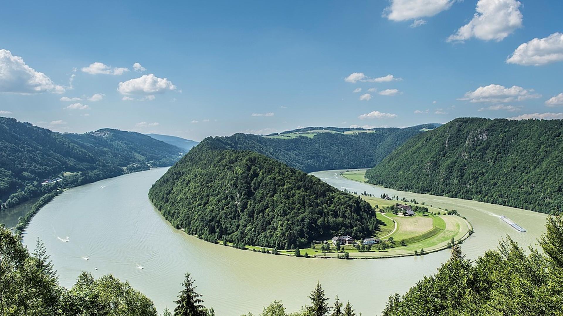 La ruta en bicicleta por el Danubio en Austria: de Passau a Viena