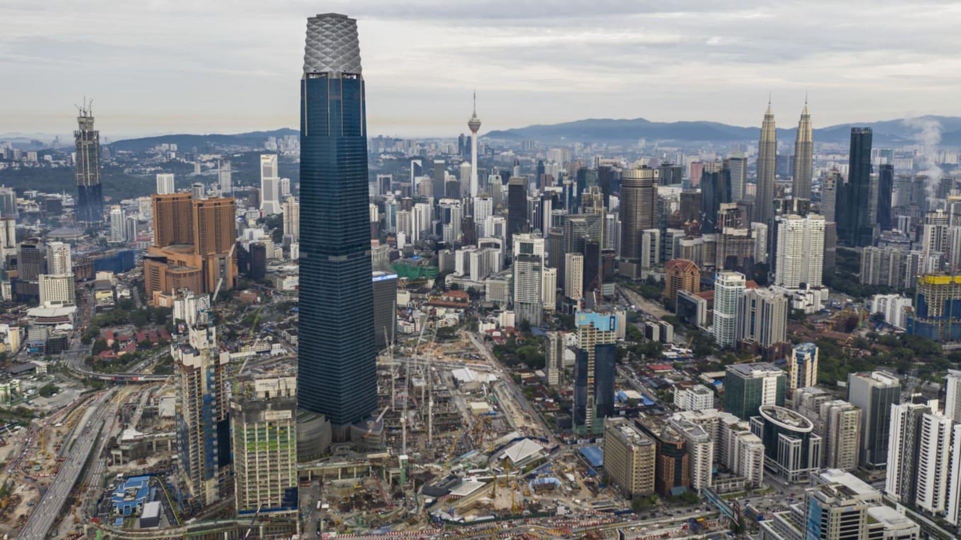 Exchange 106: este es el nuevo rascacielos más alto de Malasia