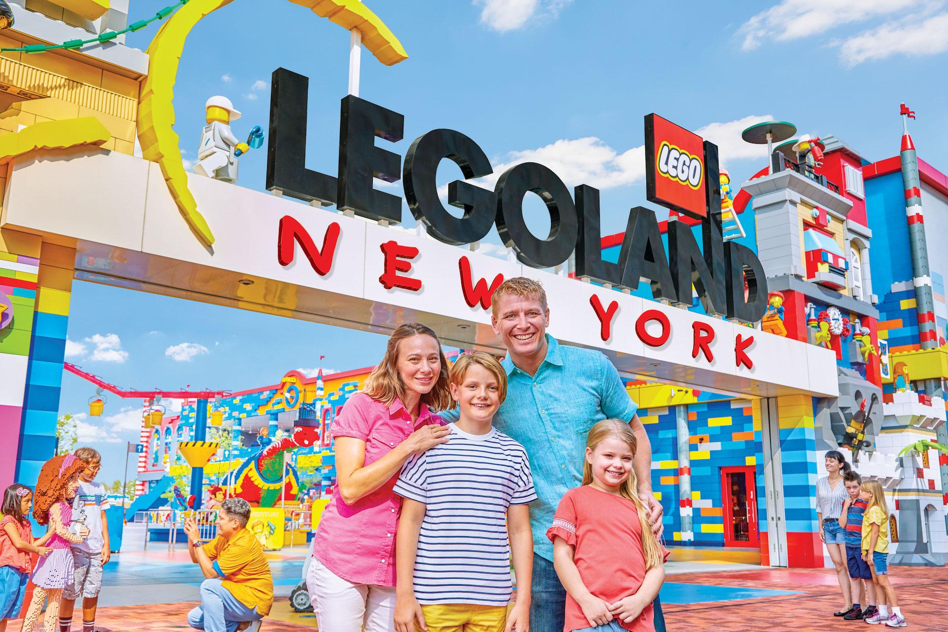Este es el nuevo parque de Legoland en Nueva York