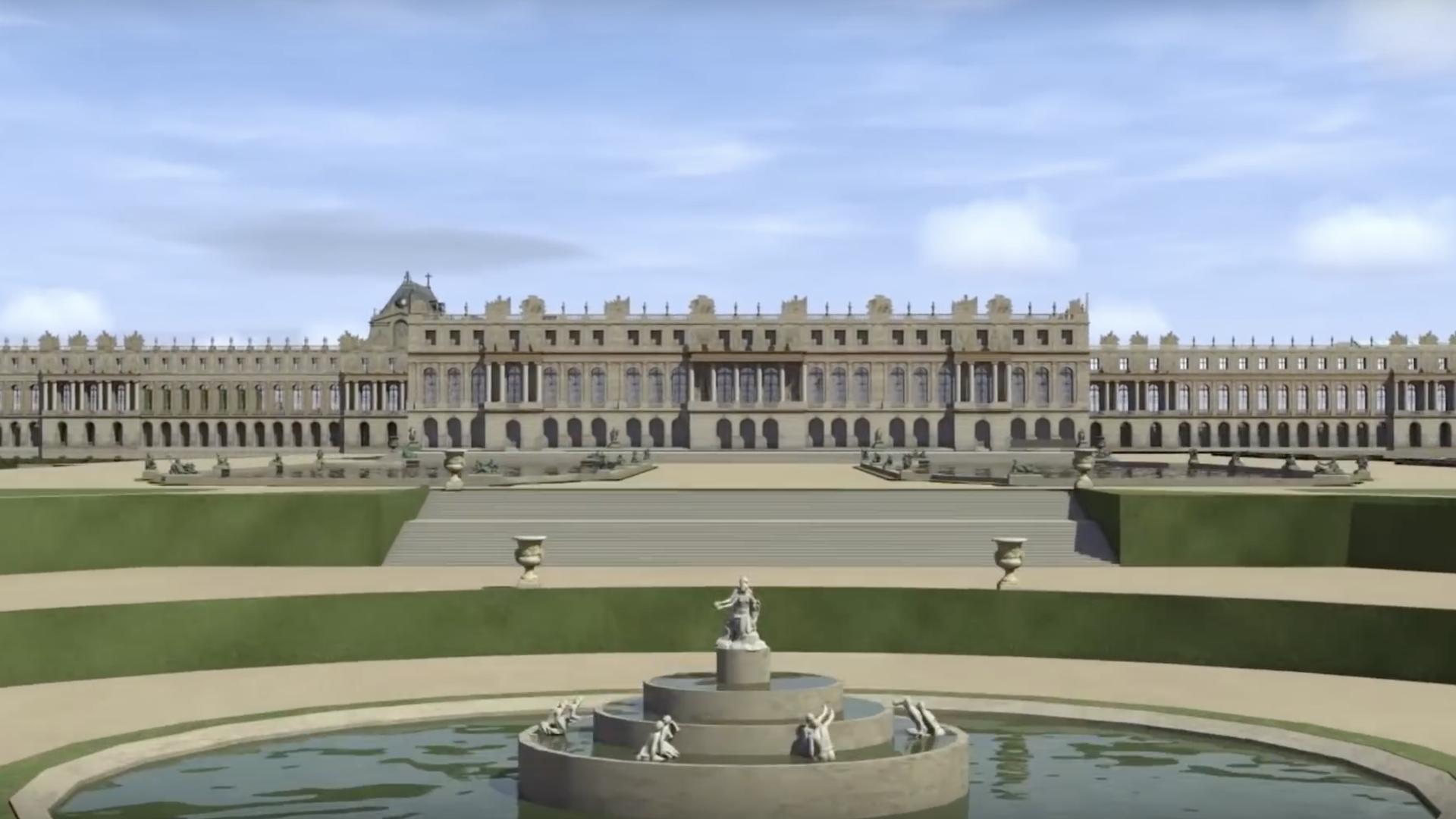 Google muestra el Palacio de Versalles en realidad virtual: video