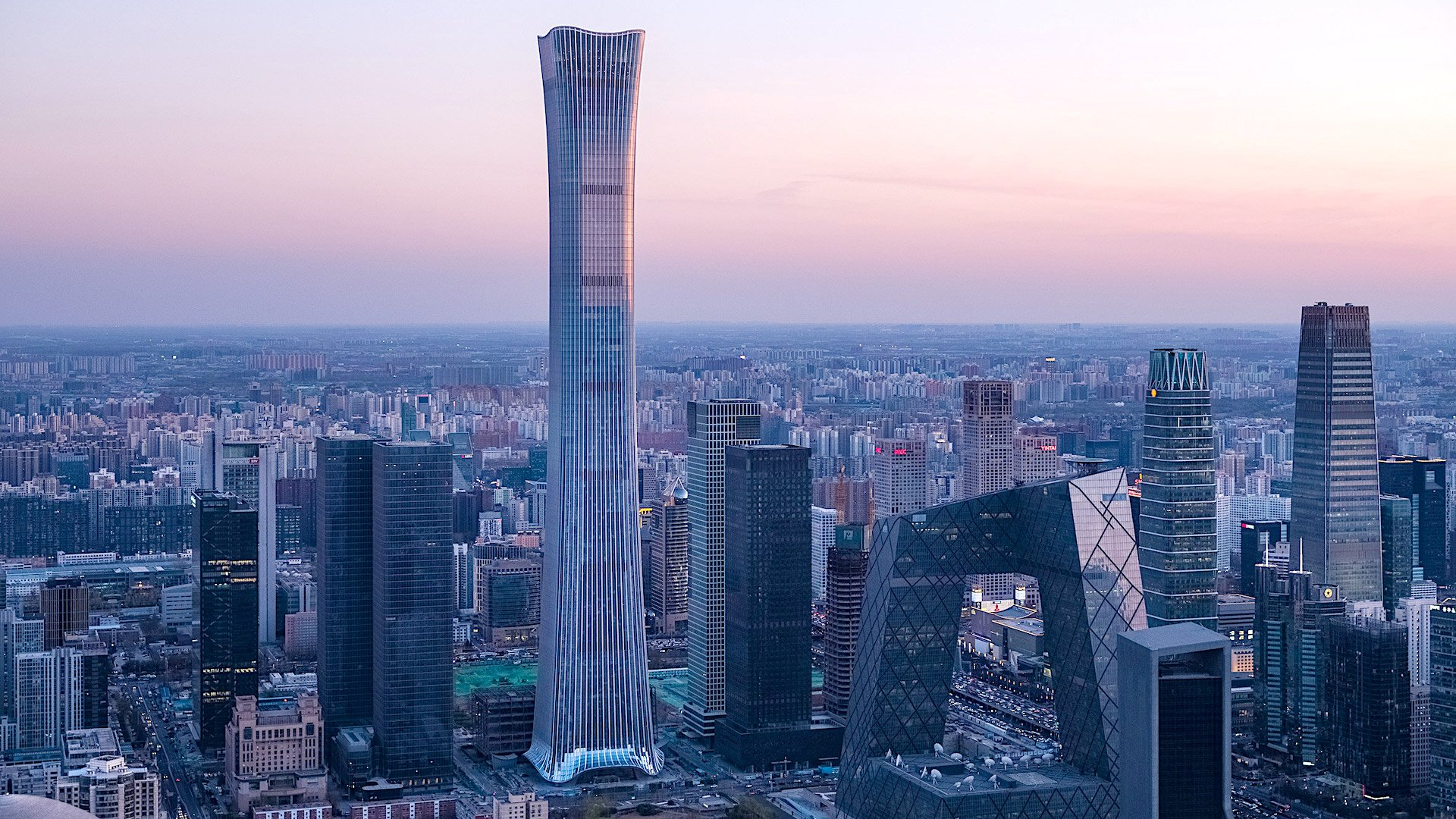 Este es el rascacielos más alto de Beijing (y el octavo en el mundo)
