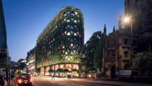 El edificio con la pared verde más grande de Europa: Citycape House