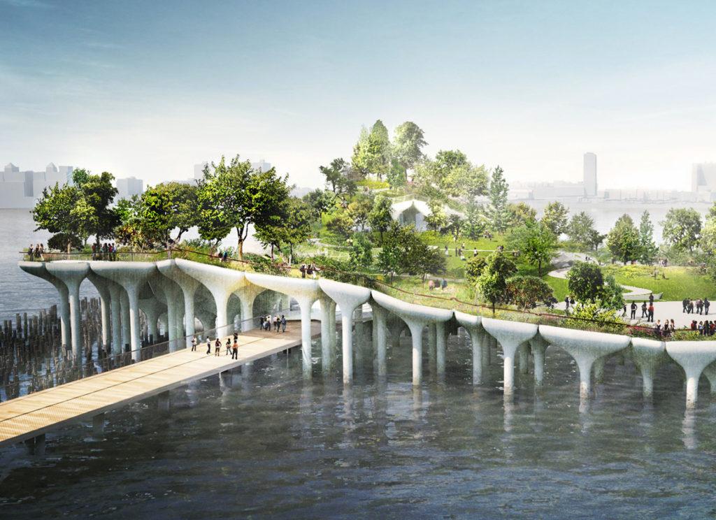 Little Island: el impresionante nuevo parque flotante en Nueva York