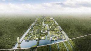 Así será la primera ciudad forestal inteligente en Cancún, en México