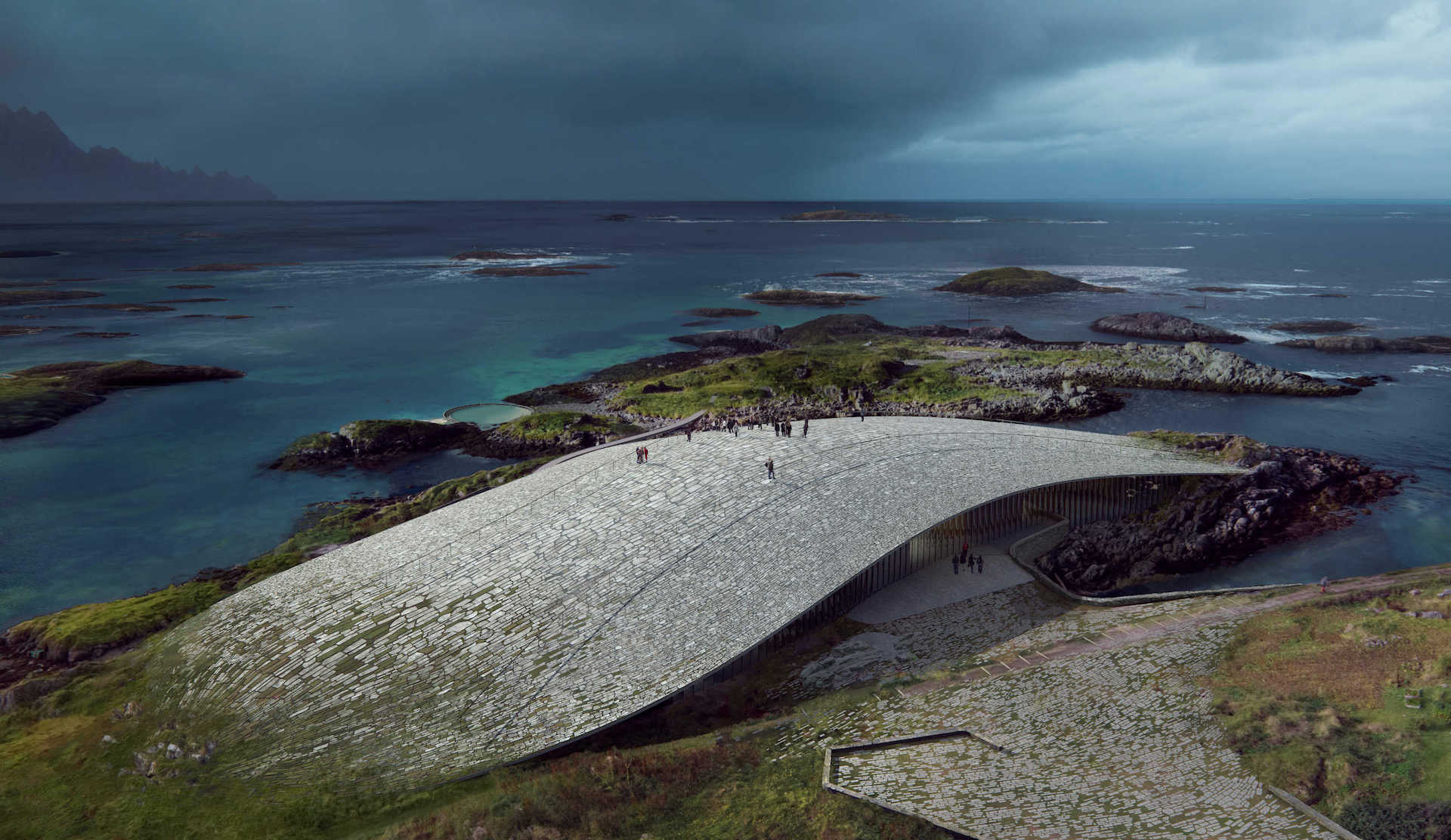 The Whale: el maravilloso edificio para ver ballenas en Noruega