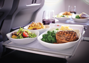 Estas son las aerolíneas con las comidas más saludables