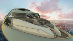 Caparazón: el increíble yate de lujo que se convierte en submarino