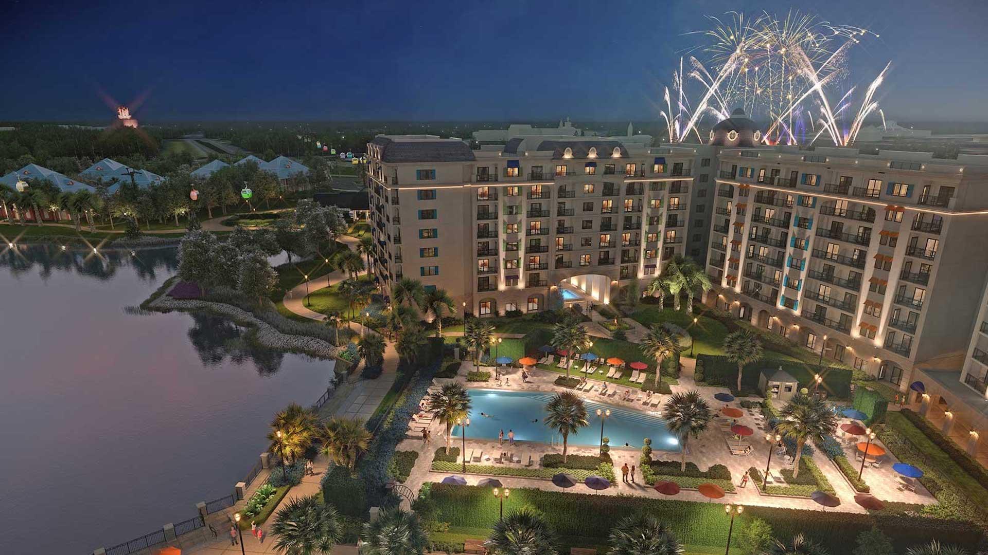 Así es el nuevo hotel de Disney en Florida: Riviera Resort