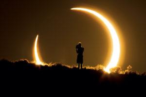 Dónde ver el eclipse solar post Navidad y sus anillos de fuego