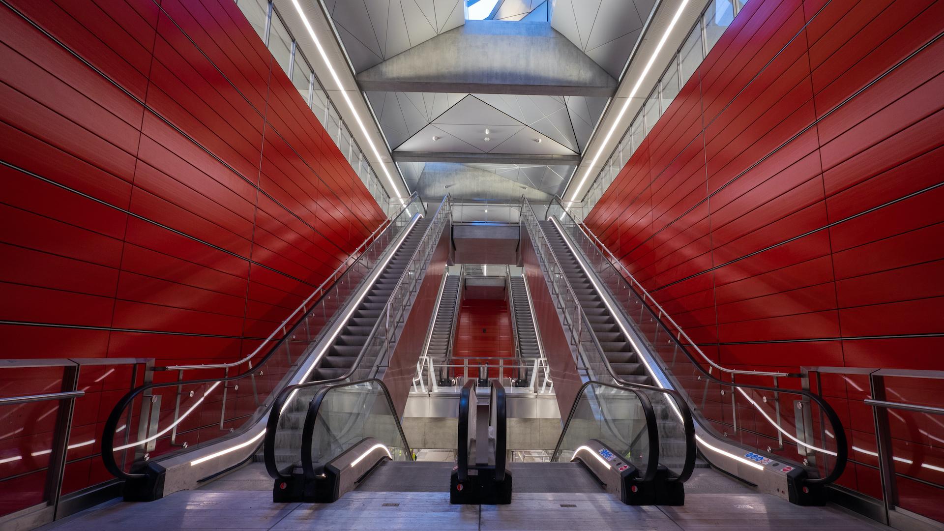 Así es el moderno nuevo sistema de subtes de Copenhague: City Ring