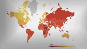 Los países con mayor y menor corrupción del mundo