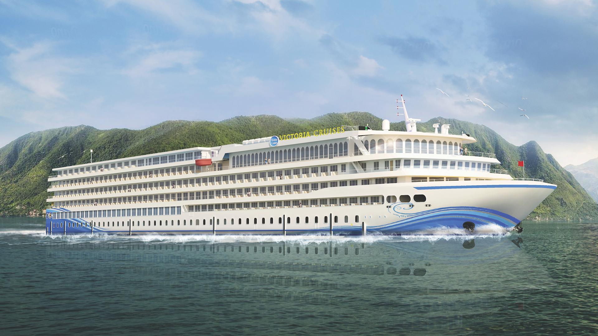 Este es el crucero de río más grande del mundo: Victoria Sabrina